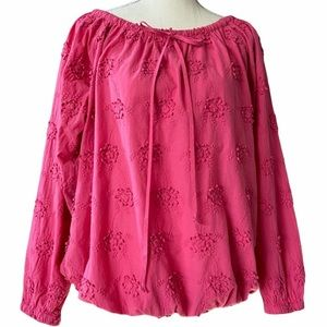 Love Moschino Floral Off the Shoulder Blouse 4